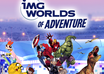 IMG World of Adventure Tickets with Private Transfers