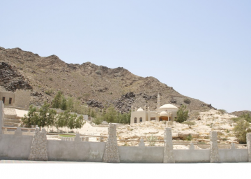 Dibba Mosque on Mountain