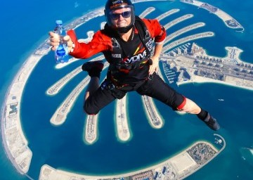 Sky Dive Dubai Marina with Private Transfers