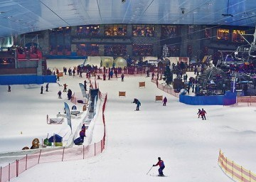 Ski Dubai with transfers